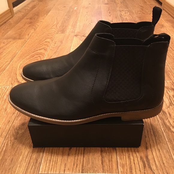 a37e1318e15 [Ben Sherman] Gabe Chelsea Leather Boots NEW